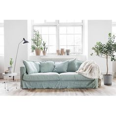 Le Grand Air 3-Sitssoffa, Green Pear - Decotique - Decotique - RoyalDesign.se
