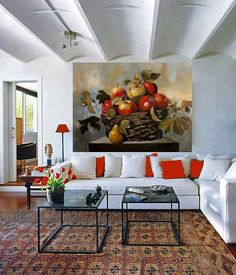 Diana Watson wall mural for family room