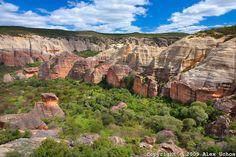 Baixão do Sitio do Meio, Parque Nacional da Serra da Capivara, Piauí