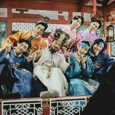 Moon Lovers Cast, Iu Moon Lovers, Moon Lovers Drama, Baekhyun Moon Lovers, Scarlet Heart Ryeo Wallpaper, Hong Jong Hyun, Korean Photo, Best Kdrama, Scarlet