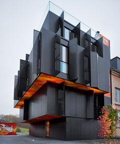 Modern Apartment using Geometrical Architecture