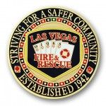 Las Vegas Fire 2D coin