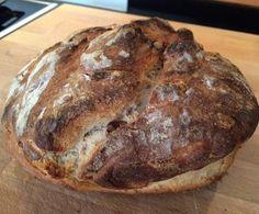 Rezept Dinkel-Mischbrot mit toller Kruste (absolut weizenfrei) von Schirmle - Rezept der Kategorie Brot & Brötchen