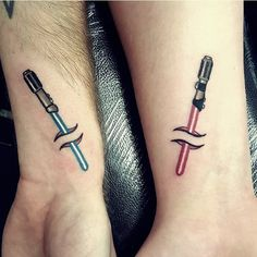 star wars lightsaber tattoo-27