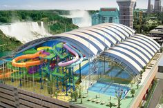 Niagara Falls Hotel and Waterpark - Fallsview Indoor Waterpark - we MUST go here some day!