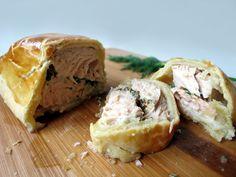 Delicious Salmon Pie | YummyAddiction.com