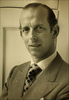 HRH Prince Edward, Duke of Kent.