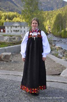 Folk Costume, Costumes, My Heritage, Nordic Design, Norway, Scandinavian, Cold Shoulder Dress, Culture, Oslo