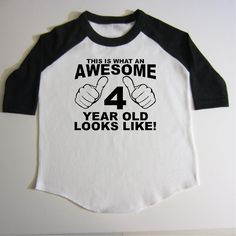 4th Birthday Shirt Four Year Old By Createmeatshirt