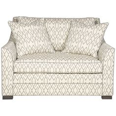 Vanguard Furniture Nicholas Chair and Half 644-CHH – Benjamin Rugs & Furniture