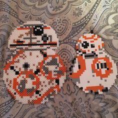 c271e3142 BB-8 - Star Wars VII perler beads by raysrollingup O Beads