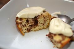 Keto Cinnamon Rolls with Cream Cheese Icing - Almond flour and sour cream (or Greek yogurt) included in batter - For a large muffin, carb count is around 1.044 carbs per muffin, (using sour cream