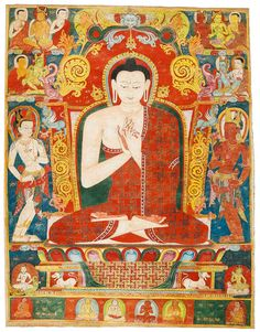 Buddha Vairocana. Tibet, 13th Century. Sotheby's