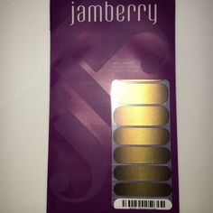 Jamberry New Dipped in Gold Nail Wraps Jamberry New Dipped in Gold Nail Wraps Jamberry Makeup