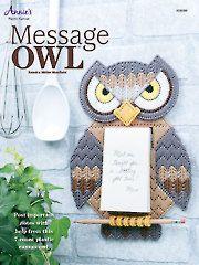 Plastic Canvas Patterns - Plastic Canvas Message Owl