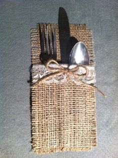 Shabby Chic Rustic Burlap and Lace by HeathersHobbys on Etsy, $7.00