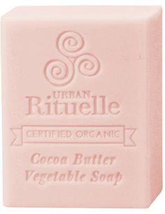 Ruby Red Grapefruit - Organic Cocoa Butter Vegetable Soap - Urban Rituelle. Blended with a nourishing formula of vegetable oils and natural plant extracts. Each soap bar contains the added benefit of moisturising certified organic cocoa butter for a super rich and creamy layer of bubbles, and is also enriched with glycerin & vitamin E to promote soft & supple skin. These divine bars will not only leave you clean, they will leave your skin feeling softer and you'll smell delicious all day!!