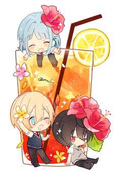 Lolis Anime, Anime Chibi, Anime Love, Anime Guys, Anime Art, Kawaii Chibi, Cute Chibi, Anime Kawaii, Chibi Food
