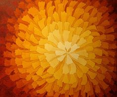 The Painted Prism: WATERCOLOR WORKSHOP: Negative Painting a Radial Design