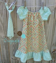 Brother and Sister Matching Outfits  by twosistersoriginals, $41.00