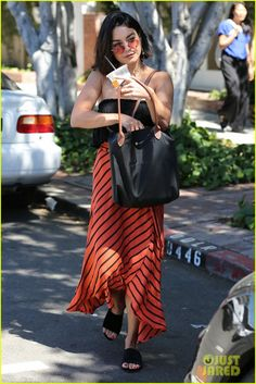 Vanessa Hudgens Can't Stop Laughing in Cute New Pics | vanessa hudgens cant stop laughing while shopping with friends 03 - Photo