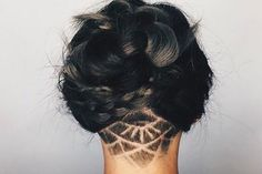 The latest hair style dominating the Internet in 2016 is hidden hair tattoos. Yes, you read correctly, tattoos!
