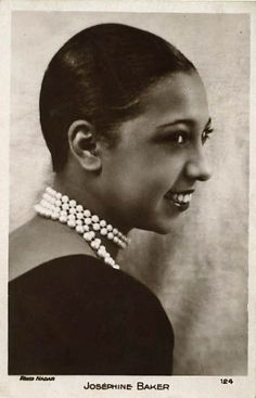 Josephine Baker (June 3, 1906 – April 12, 1975) was an African-American born French dancer, singer, and actress. Born Freda Josephine McDonald in St. Louis