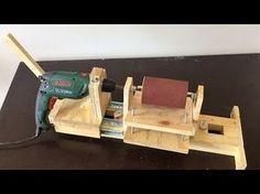Torno caseiro para artesanatos, Diy, faça você mesmo.( How to make homemade lathe ) - YouTube