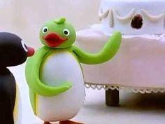 Pingu attending the Wedding  More like Effie Trinket showing Peeta the Capitol!!