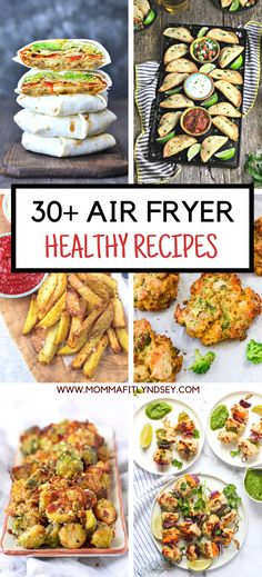 Over 30 Healthy Air Fryer Recipes including air fryer vegetable recipes, air fryer chicken recipes, air fryer fish recipes and more! Healthy Air Fryer Recipes for Your Family - Momma Fit Lyndsey Life Currents lifecurrents Healthy Living Over 30 Hea Air Fryer Recipes Cookbook, Air Fryer Fish Recipes, Air Fry Recipes, Air Fryer Dinner Recipes, Cooking Recipes, Healthy Recipes, Air Fried Vegetable Recipes, Keto Recipes, Vegetable Egg Rolls