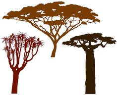 We want to create a 3-D tree (likely acacia) by painting a silhouette in a corner and adding real branches from the wall and ceiling. These are lyrical.