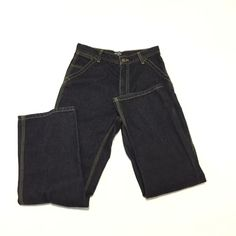 Polo Ralph Lauren Boys 16 Denim Jeans Blue Straight Cotton Dark Wash  Carpenter  PoloRalphLauren   d47069347