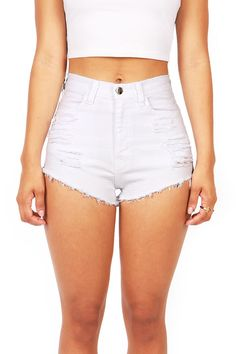 Slicker High Waist Shorts