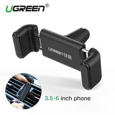 Ugreen auto handyhalter für iphone 6 samsung handyhalter 360 einstellbare air vent halter stehen auto halter für iphone 6s 5