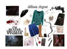 Allison Argent outfit by kartavenko on Polyvore featuring Boohoo, Jil Sander Navy, Allurez, Stephen Webster, EF Collection, BillyTheTree, Bling Jewelry, Casetify, Hot Topic and WithChic