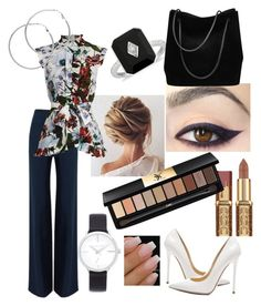 """Board Meeting"" by meliemoo on Polyvore featuring Roland Mouret, Jimmy Choo, Erdem, Michael Kors, Melissa Odabash, Gucci and Yves Saint Laurent"