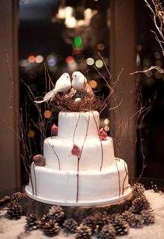 Rustic Winter Wedding Decor For Sale
