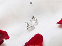 Bonny & Read 平價飾品 - [銀飾] 微涼秋意樹葉耳扣  NT.268