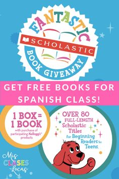 How to get FREE BOOKS for your Spanish class