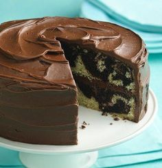 Gluten Free Marble Cake by Pillsbury - Replace diary with your favorite dairy subs.
