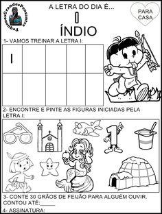 Atividade Inédita letra I - Educação Infantil
