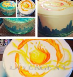OMG!! That is the cutest divergent cake I have ever seen!!!!