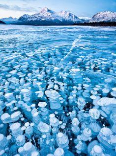 Les plus beaux étangs et lacs gelés à travers le monde
