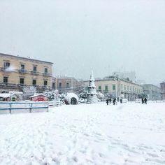 #piazza#neve#giovinazzo#incanto#magia#natura#regali#adorolaneve#gioia#iosuperfelice