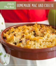 Ditch The Box Homemade Mac and Cheese | Easy and quick recipe great ...