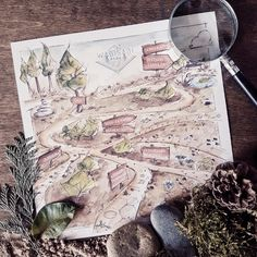 Montessori, Vintage World Maps, Park, Instagram, Parks