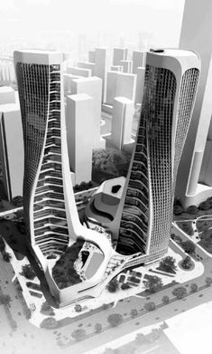 50 Stunning Modern Architecture Building 57 is part of architecture Design Plan Dream Homes - 50 Stunning Modern Architecture Building 57 Architecture Design, Parametric Architecture, Futuristic Architecture, Concept Architecture, Beautiful Architecture, Contemporary Architecture, China Architecture, Parametric Design, Building Architecture