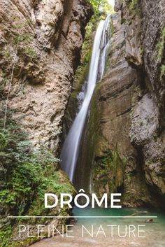 From the Saou forest to the Omblèze gorges: nature hike in the Drôme. A beautiful getaway in France. Road Trip France, France Travel, Week End France, Santa Cruz Camping, Voyage Europe, Europe Destinations, Roadtrip, Where To Go, Travel Photos