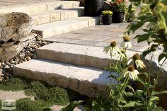 Concrete masonry & landscaping design portfolio | Permacon Rock Ranch, Landscaping Design, Outdoor Furniture, Outdoor Decor, Portfolio Design, Concrete, Walls, Gardening, Patio