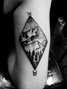 Montañas Géminis y tauro